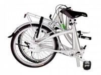 Beixo vouwfietsen-Beixo Compact Low opgevouwen
