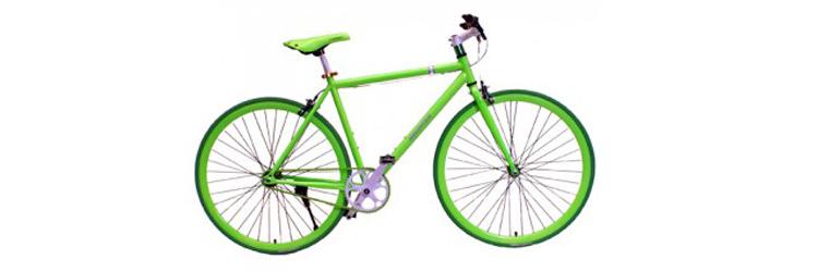 Gekleurde fiets