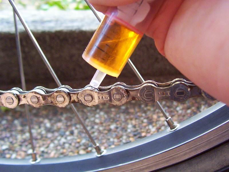 ketting fiets schoonmaken
